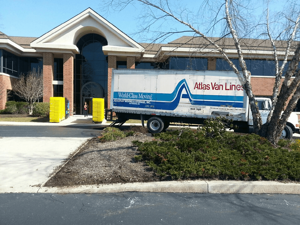 Commercial Office Move in New Jersey