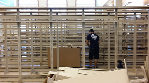 Rack Installation - Library Relocation